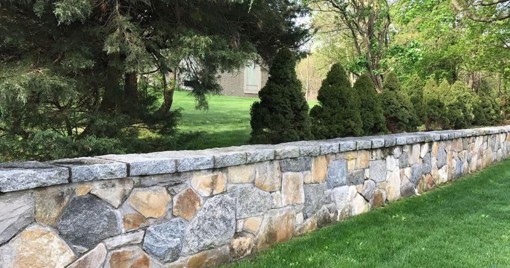 decorative stone wall contractor