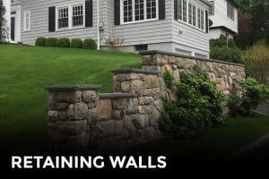 Natural Stone Retaining Walls - Builder - Westchester